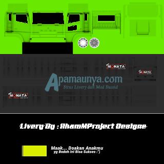 Download Livery Truck Fuso Monata