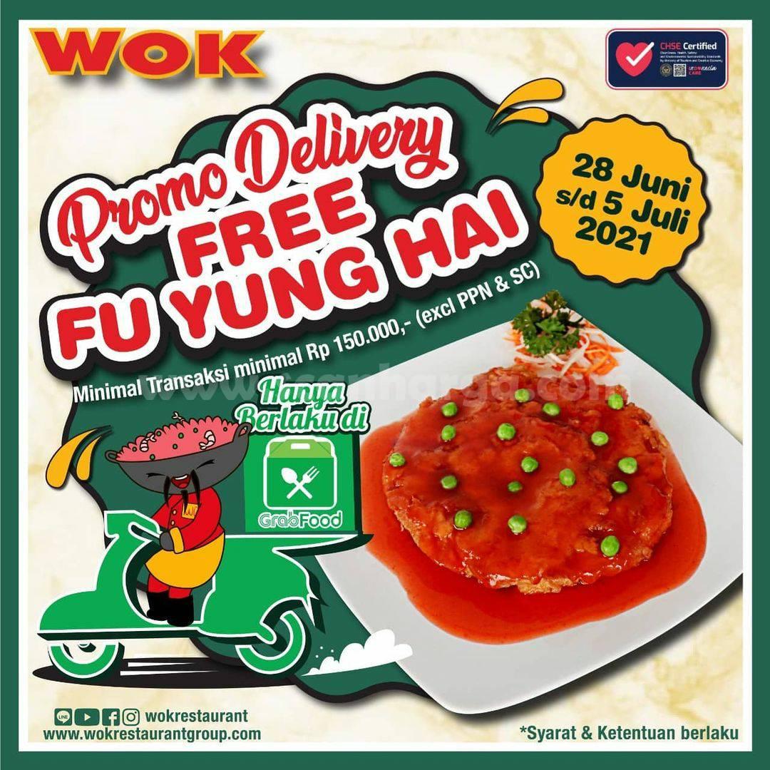 WOK Restaurant Promo GRABFOOD - GRATIS Fu Yung Hai
