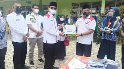 Naylatul Izzah Berprestasi, Bupati Lima Puluh Kota Sambangi SMPN 1 Harau