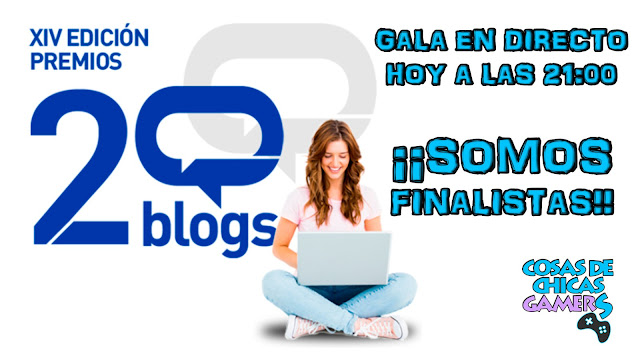 Finalistas premios 20blogs - Chicas Gamers