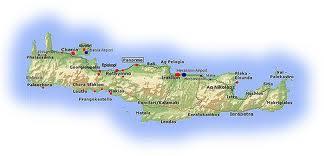 kart av kreta Min gale verden: Agia Marina, Chaniakysten (Kreta) kart av kreta