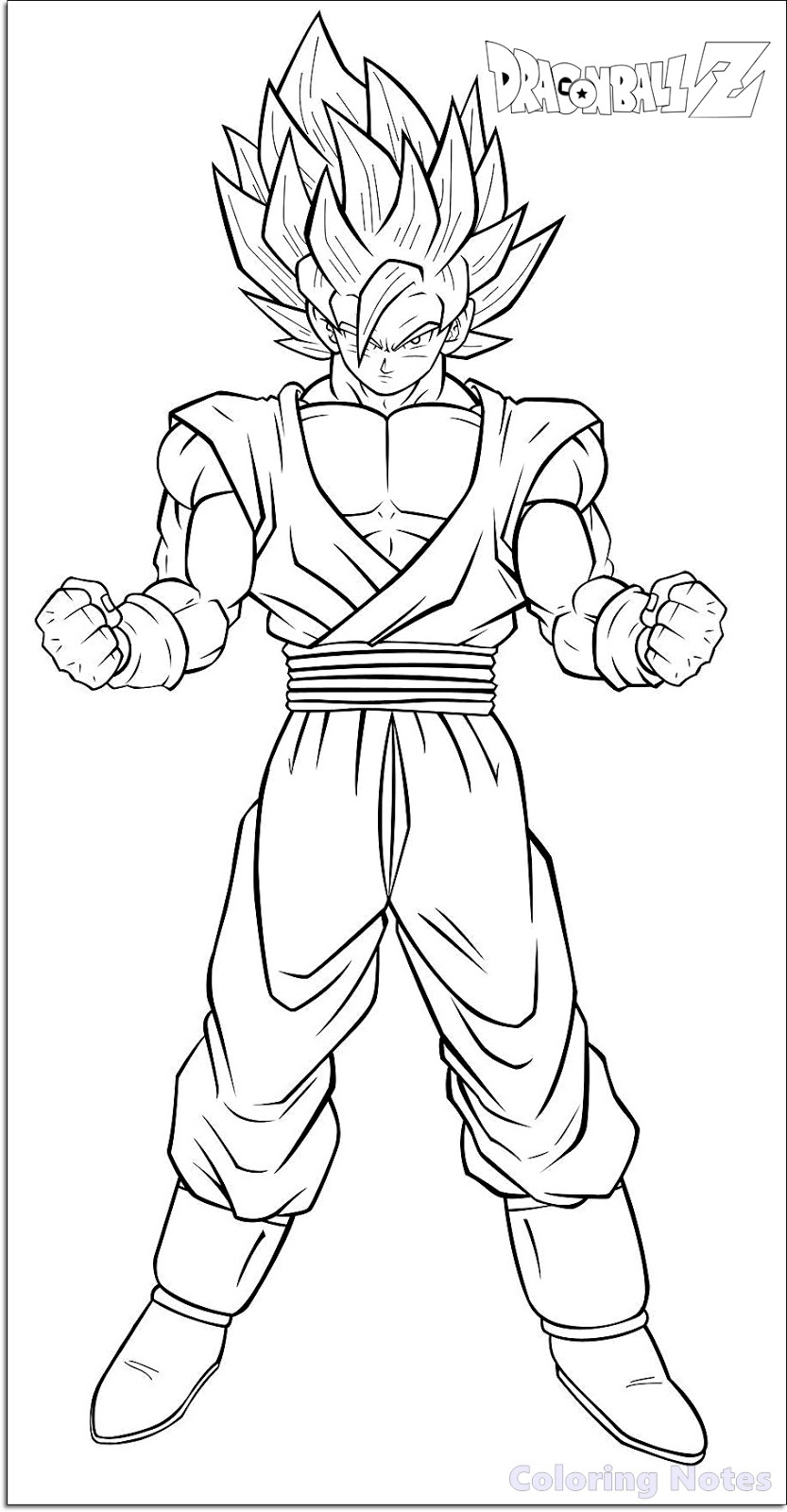 Dragon Ball Z 9 - Friv Free Coloring Pages For Children - Dragons ... | 1600x833