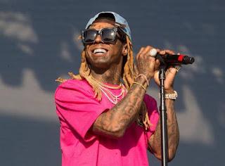 Lil Wayne on stage