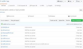 Cách tạo và upload tệp css lên Github sử dụng link thay thế css trong mẫu template
