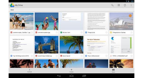 Update Google Drive Android, Kinerja Lebih Cepat