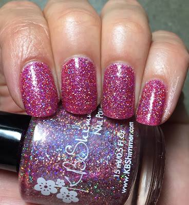 KBShimmer Mega Flame Collection, Spring 2016; Ripe For The Pinking