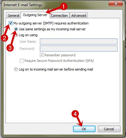 Menerima dan Mengirim Email (Yahoo & Gmail) di Microsoft Outlook 2007