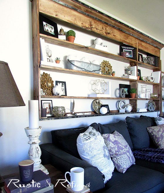 Living room decorating idea for Fall
