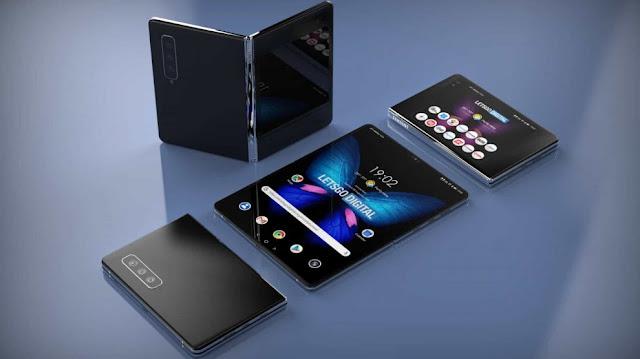 سعر ومواصفات هاتف Galaxy Fold 2 الجديد من Samsung قابل للطي 2020
