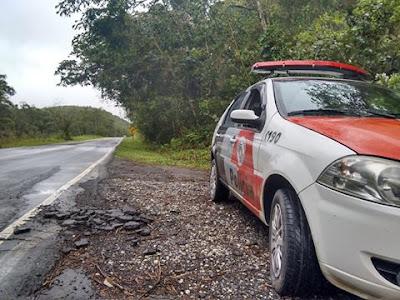 POLÍCIA MILITAR DE CAJATI LOCALIZA CARRETA ROUBADA