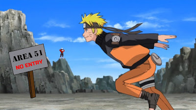 Area 51 Naruto Run