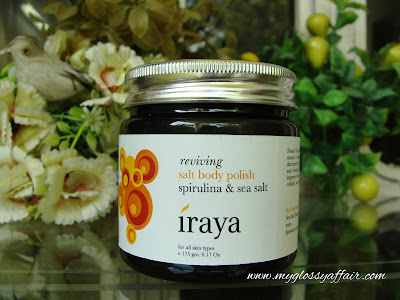 Iraya Reviving Salt Body Polish - Spirulina & Sea Salt Review