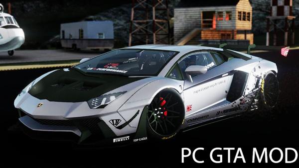 Free Download Lamborghini Aventador Liberty Walk Limited Edition 2018  Mod for GTA San Andreas.