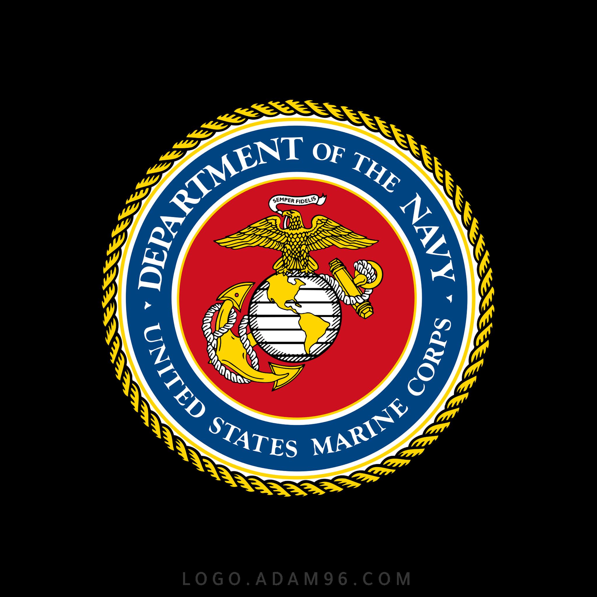 تحميل شعار قوات مشاة بحرية الولايات المتحدة لوجو رسمي عالي الجودة بصيغة PNG