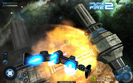 Game: Galaxy On Fire 2 Non-HD, HD, THD, Xperia Play Version APK + DATA