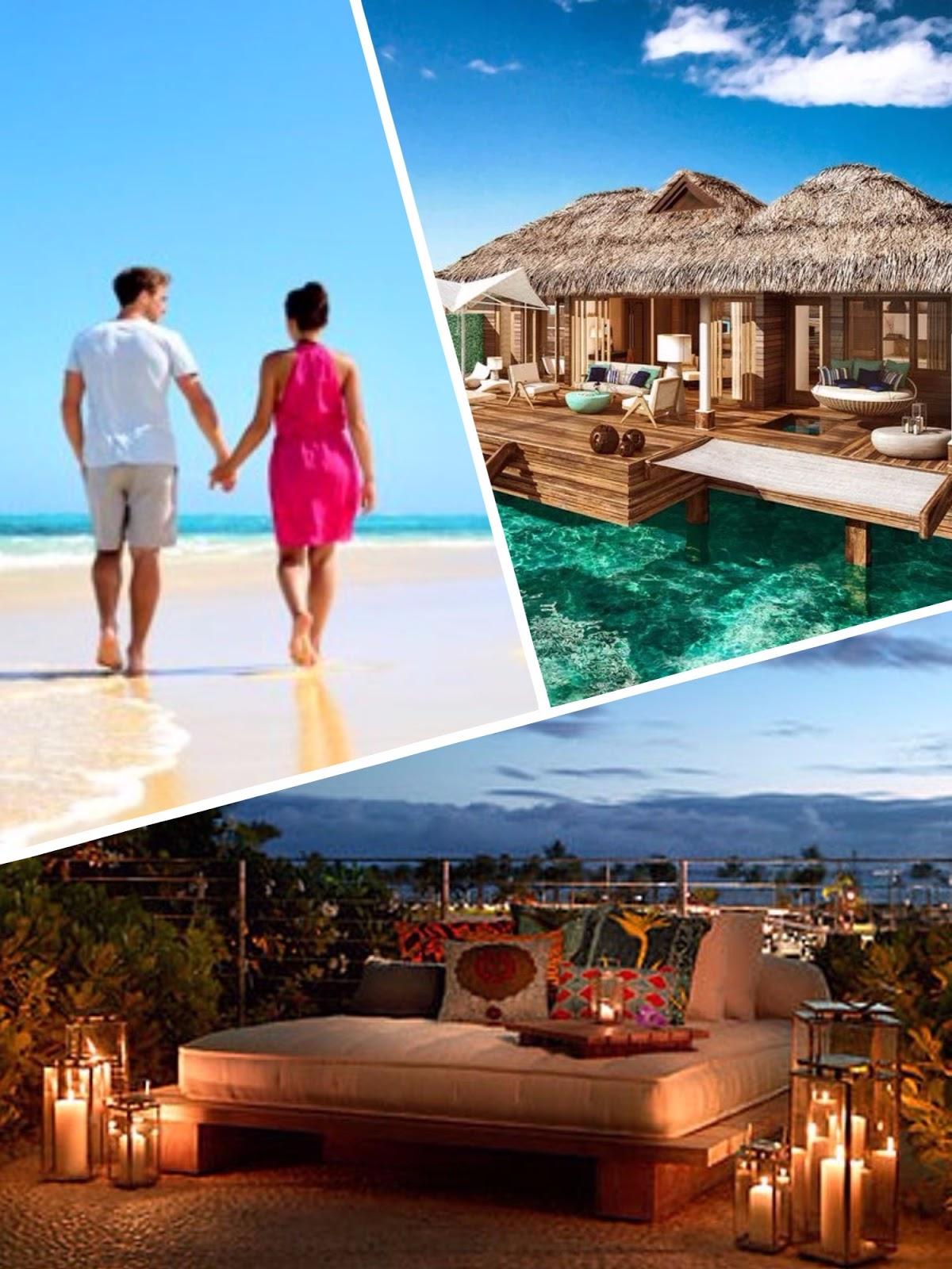 Collate of Hawaii Islands Best Beach Honeymoon Destinations amazingexplore