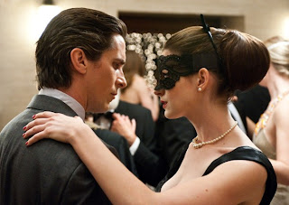 Christian Bale & Anne Hathaway aka Batman & Catwoman, The Dark Knight Rises