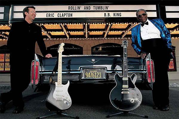 """Ακούστε το ακυκλοφόρητο """"Rollin' and Tumblin"""" των Eric Clapton και B.B. King"""