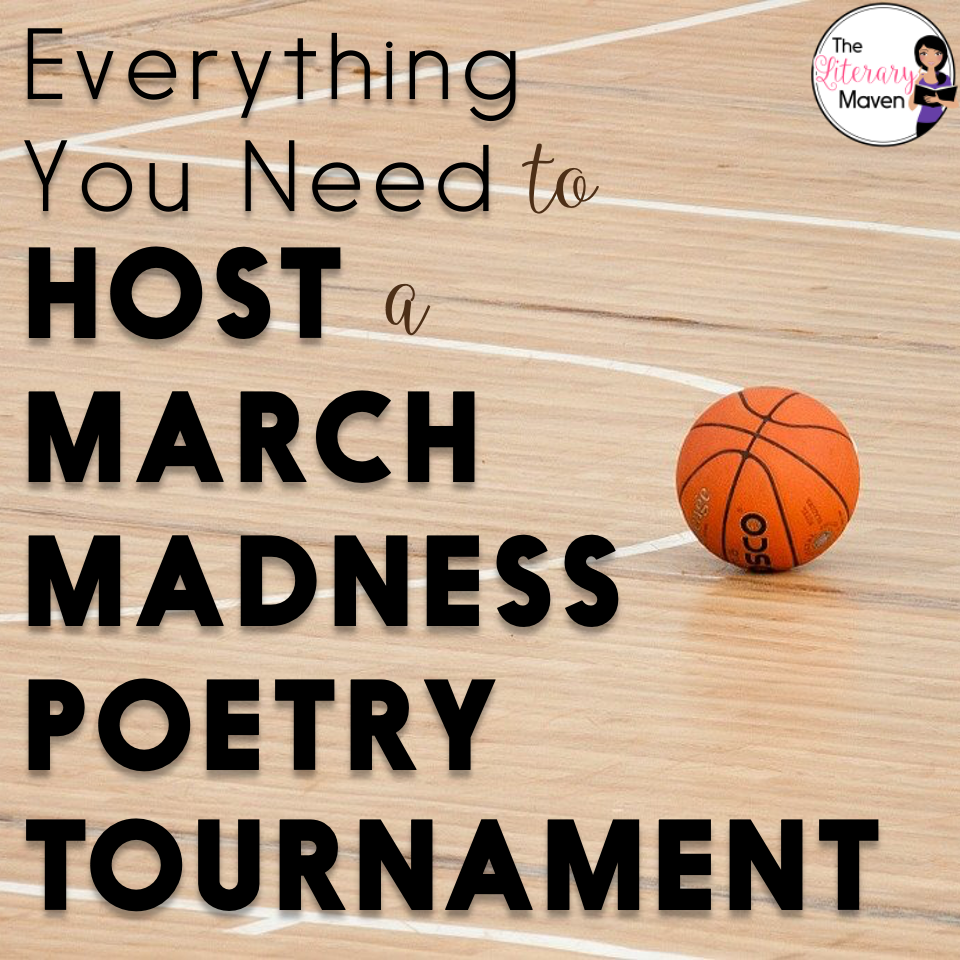 Hosting a March Madness Poetry Tournament is a great way to read and reread poetry as students examine elements and pick favorites.