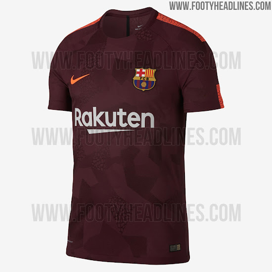 FC Barcelona 17-18 Third Kit Released - Footy Headlines f3087dbe0