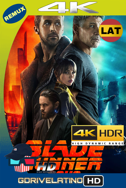 Blade Runner 2049 (2017) REMUX 4K HDR (Latino-Inglés) MKV