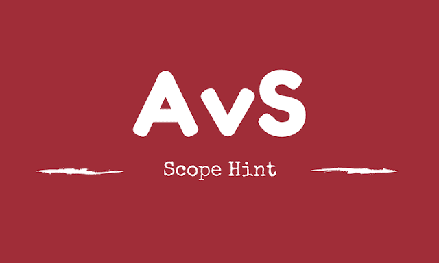 AvS-Scope-Hint