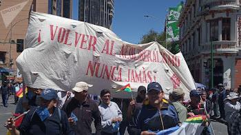 Bolivia: la democracia defendida en las calles