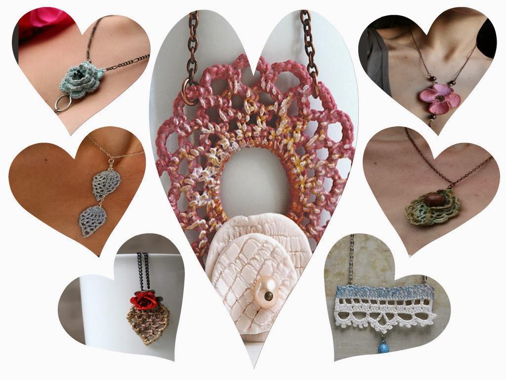 7 Colgantes Bellezones de Crochet que Inspiran
