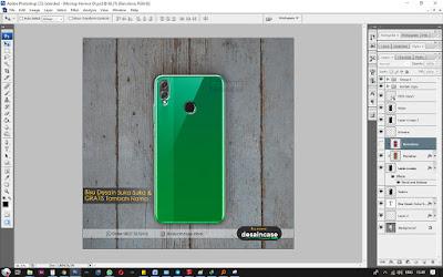 Cara Desain Mockup Case Honnor 8X