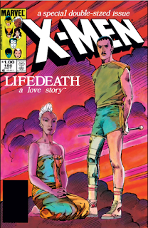 Cover to Uncanny X-Men #186: LIFEDEATH
