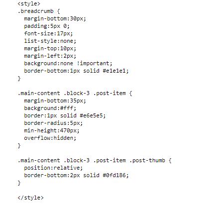 Hướng dẫn nén CSS và cách xử lý CSS cho blogspot