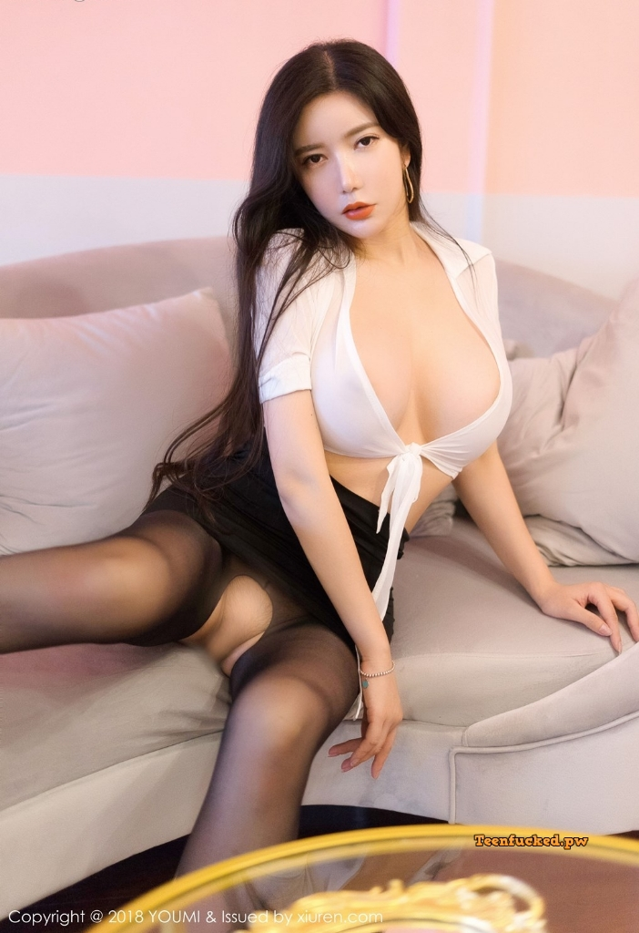 YouMi Vol.222 MrCong.com 023 wm - YouMi Vol.222: Người mẫu 心妍小公主 (45 ảnh)