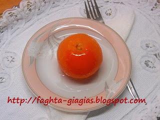 Μαντάρινι γλυκό του κουταλιού - από «Τα φαγητά της γιαγιάς»
