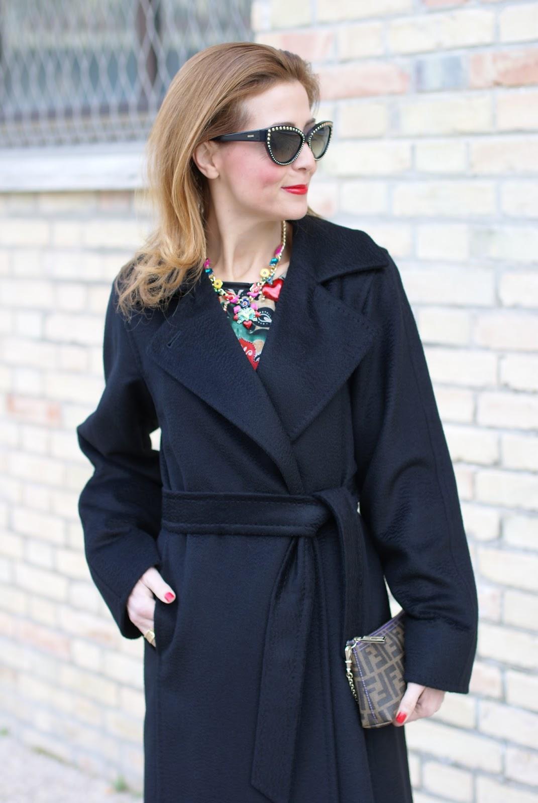 The perfect black coat  Max Mara Manuela coat  51cea6c0256