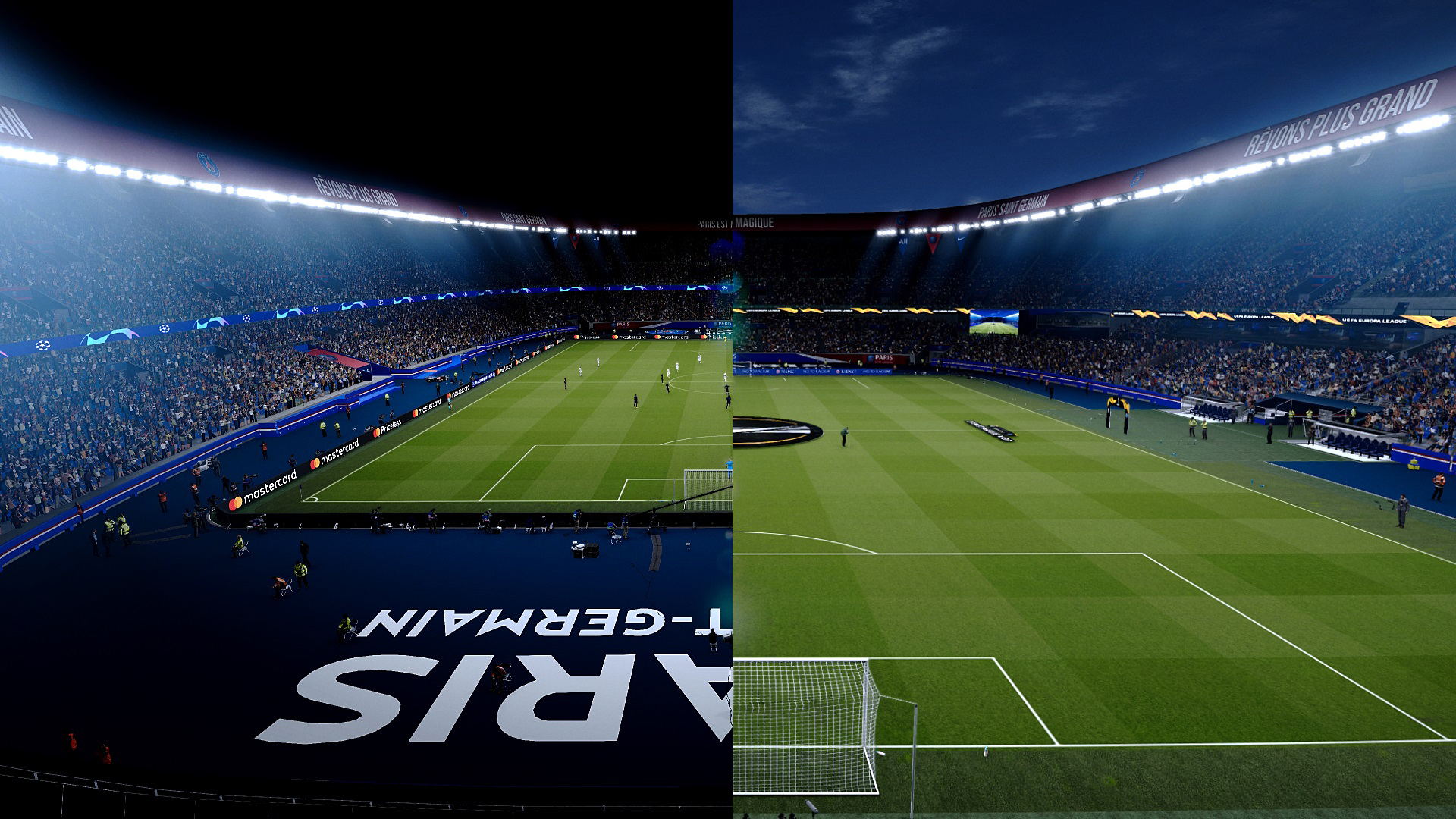 PES 2021 Parc des Princes - PSG (Paris Saint-Germain)