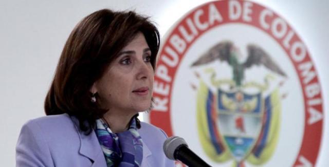 María Ángela Holguín: Colombia realizará registro de venezolanos la próxima semana