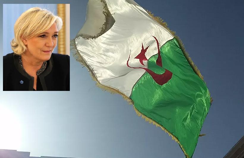 Marine Le Pen réagit fermement aux propos du Président algérien réclamant des excuses pour la colonisation