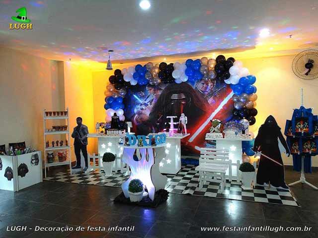 Decoração festa de aniversário infantil Star Wars - Provençal simples