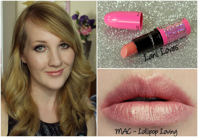 MAC Lollipop Loving lipstick swatch