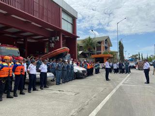 Ditjen Hubla Dirikan  Posko Bantuan Penanggulangan Banjir  Jabodetabek di  PMK Pelabuhan Tanjung Priok