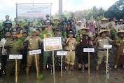 Pemerintah Dan Petani Selayar Ikut Tanam Serentak 1000 Titik Se-Sulsel