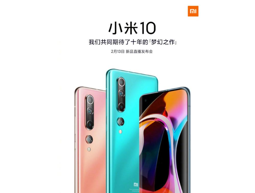تصميم Mi 10 هاتف صورة هاتف Pro