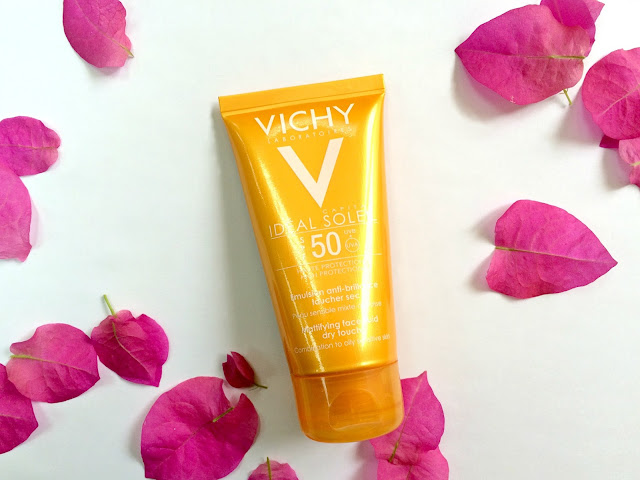 Vichy Ideal Soleil SPF 50 Mattifying Face Fluid