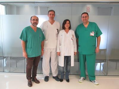 El hospital de Gandia incorpora una nueva técnica para tratar el derrame del pericardio