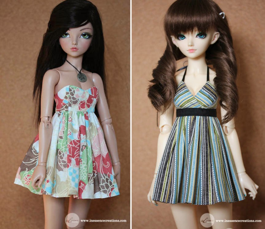 inEssence Creations - MiniFee Spring Dress and MiniFee Halter Tank Dress