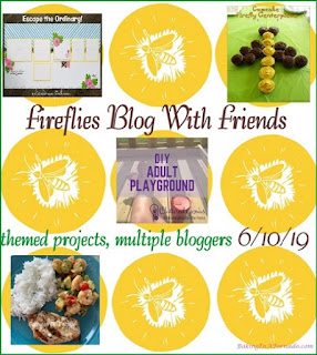 Blog With Friends, a multi-blogger project based post incorporating a theme, Fireflies. | Featured on www.BakingInATornado.com