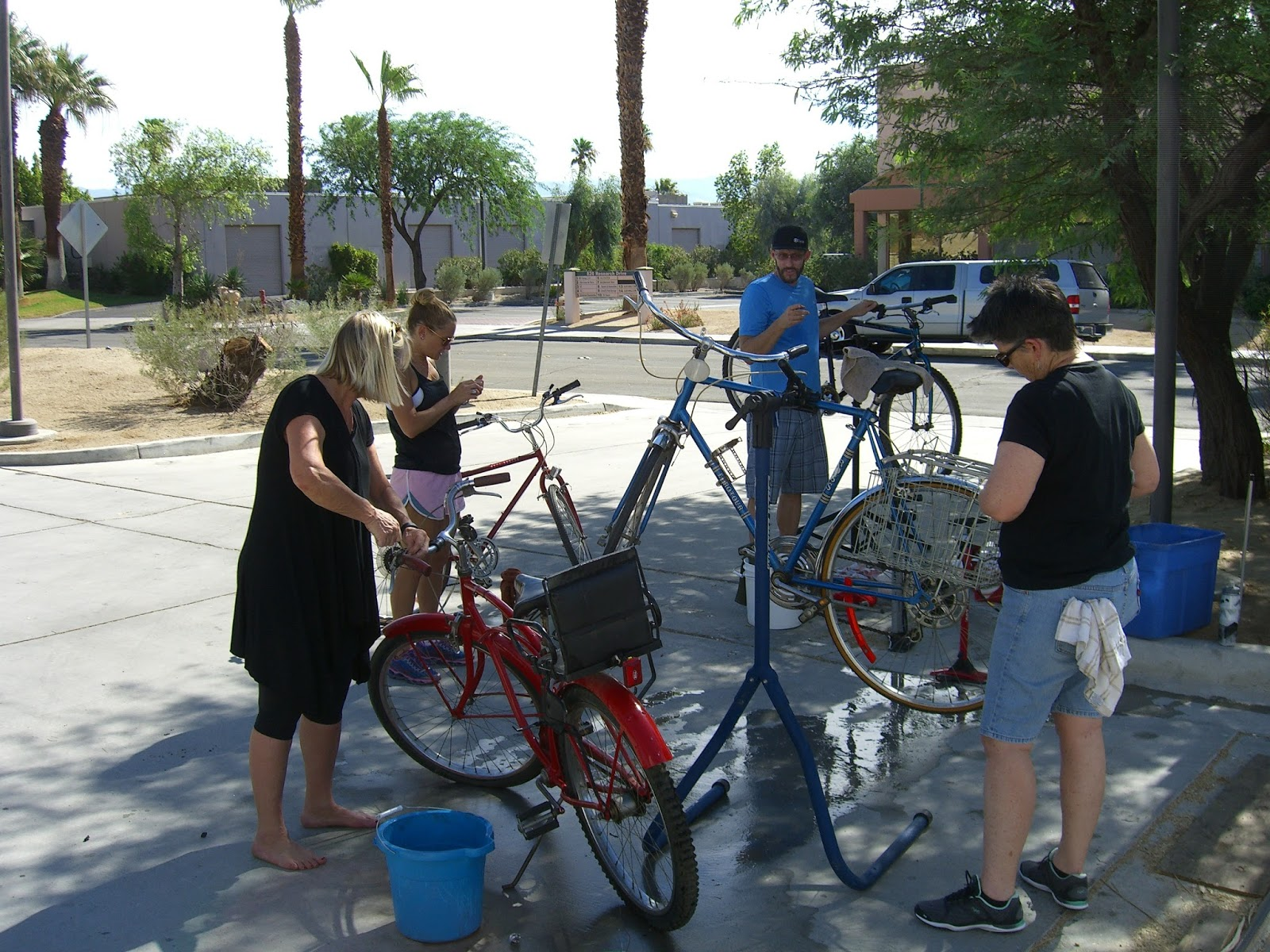 Desert Roadkill Donated Bicycles For Boys And Girls Clubs Of Palm