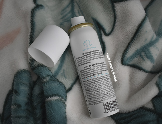 Spray Calmante Instantáneo para pieles sensibles o con rojeces de Lullage rougeXpert