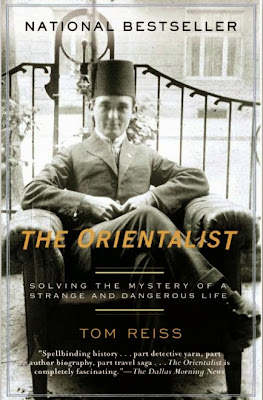 The Orientalist by Tom Reiss – book cover