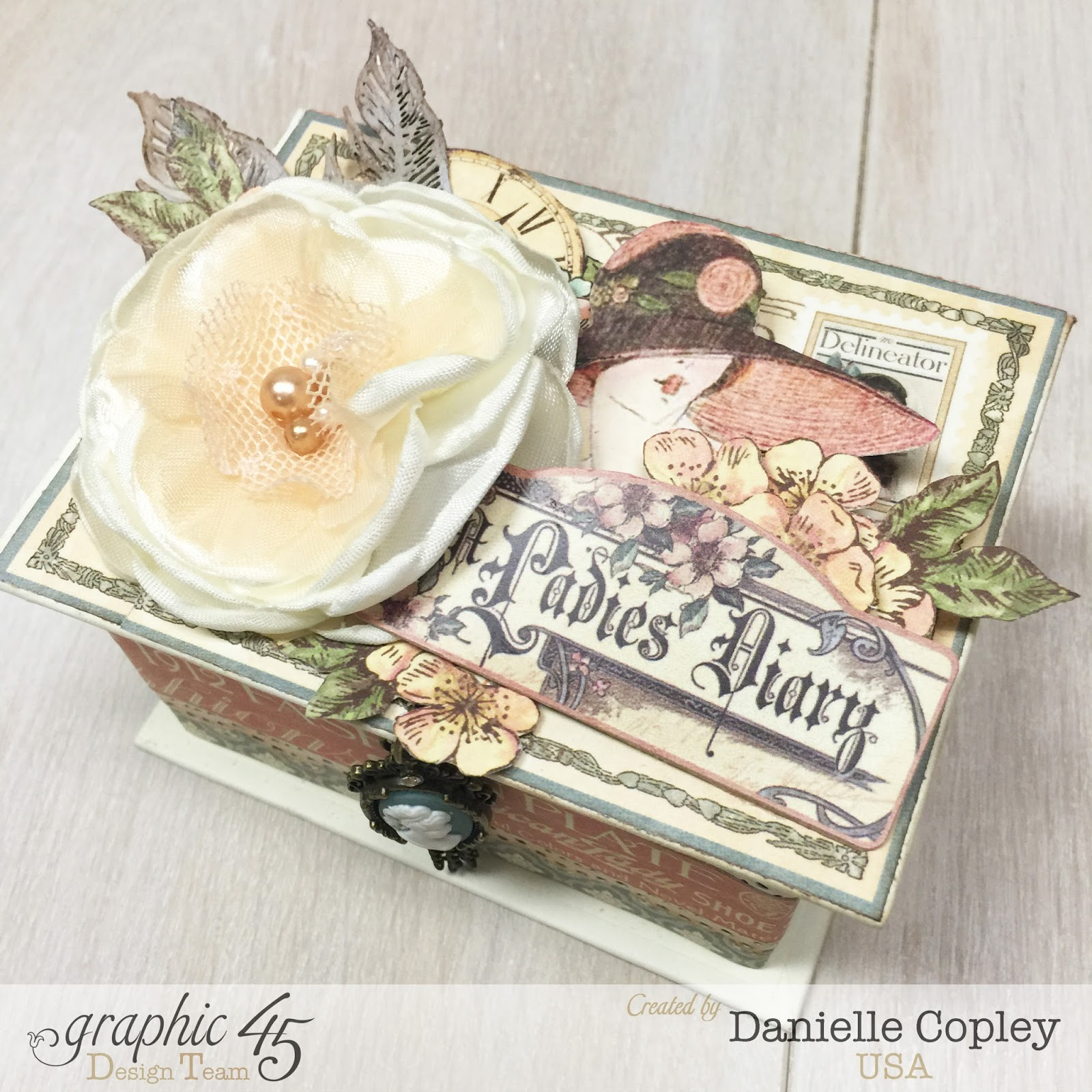 How to make scrapbook for husband - Mother S Day Atc Box And Tag Album